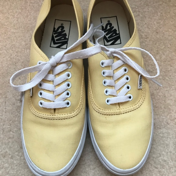 b682236b48 Authentic Slim vans (brushed twill) sunlight. M 5b33b0b4bb761507d44f44dc